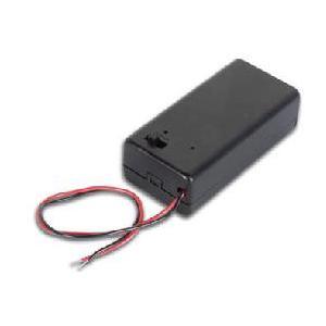 9V乾電池用ホルダー/スイッチ付|denshi