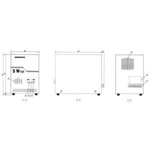 50/60Hz周波数変換器200V→100V/5000VA(SW-5000)