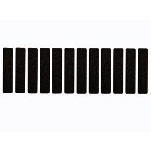 フェルトテープ- 長方形 15mm x 68mm - 12個|denshi