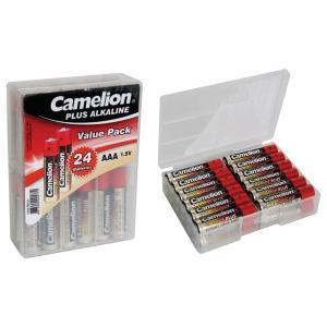アルカリ単4乾電池24本(プラケース)|denshi