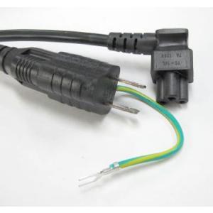 電源コードセット 3P/2P変換アダプタ+3P-C5Lタイプ PSE|denshi