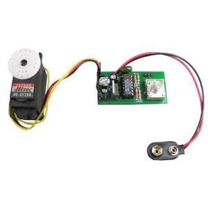 電子工作キット(マニュアルサーボモーターコントローラー) SMC-01|denshi