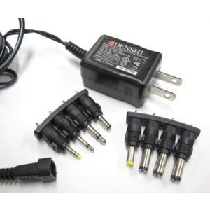 8種取替DCジャック付スイッチング電源9V|denshi