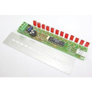 12角型赤色LED VUメーター VM-22|denshi