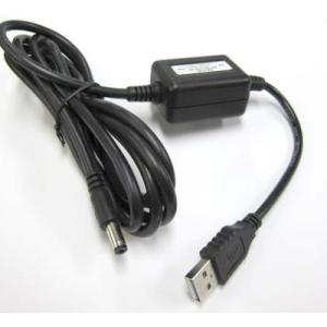 ステップアップDC/DCコンバーター5VDC(USB2.0)>12VDC/0.5A|denshi