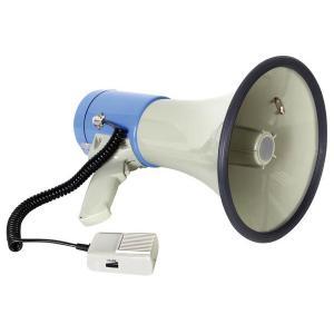 パワーメガホン25W/ハンドマイク+USB+SDスロット付 denshi