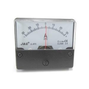 アナログ直流電流パネルメーター+/-DC30A(シャント外付タイプ)|denshi