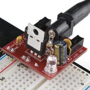 電子工作キット(ブレッドボード用5V/3.3V電源)4618 denshi