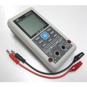 コンパクトLCRメーター(DCV/周波数計測も可能)LCR-9173|denshi