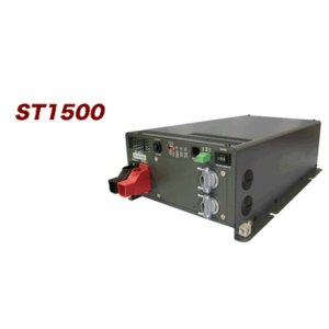 AC切替リレー内蔵型インバータ12Vdc→100Vac/1500W(ST1500-112)|denshi