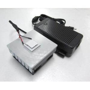 学習用2段重ねペルチェ冷却ユニットDT2-10206+電源セット