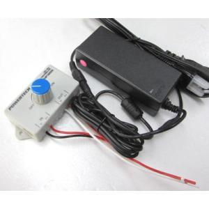 【PWMコントローラ付】12VDC/5Aスイッチング電源60W|denshi