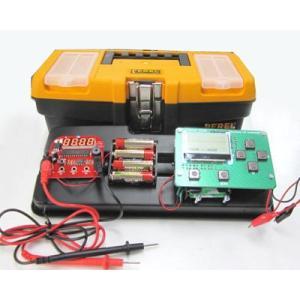 学習用LCDオシロスコープ+マルチメーター工具箱仕様|denshi
