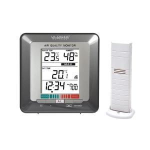 空気品質(CO2)モニター WS272 denshi