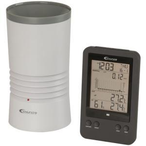 デジタルレインゲージ(雨量計)+温湿度計 XC0430|denshi