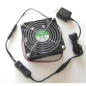 スイッチ付パワフルタイプ小型卓上ファン(扇風機)|denshi