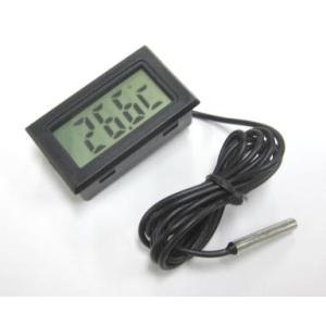 観賞魚の水槽用デジタル水温計 HT-1|denshi
