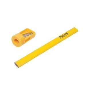 大工用鉛筆セット(12本+鉛筆削り)CPS12|denshi