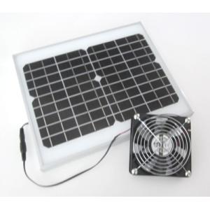 ソーラーファン(メタルケースL)-送風・排気用扇風機|denshi