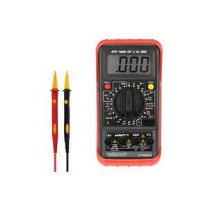 デジタルマルチメーター- 24レンジ/ CAT II 700 V - CAT III 600 V /ホールド/ 自動電源OFF/温度計測/ 15A電流計測 AC & DC-DVM892N|denshi