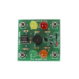 電子工作キット(もぐらたたきゲーム)MLP111 denshi
