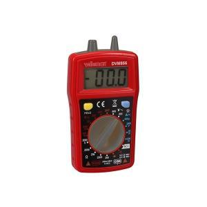 デジタルマルチメーター CAT III 300V/CAT II 500V-10 A-1999カウント- NCV/LED/データホールド/バックライト/ブザー-DVM856|denshi