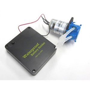 小型蠕動ポンプ6V-VMA447+防水バッテリーホルダー単3×4本用 denshi