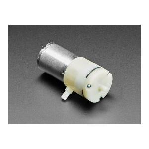 エアポンプ/ヴァキューム DCモーター-4.5V-2.5LPM|denshi