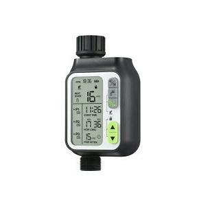 デジタル水遣りタイマー(3タイマー+雨センサー)AA0380 denshi