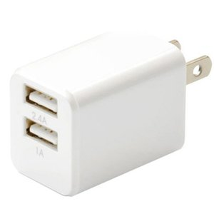 NEW SHARKK 15172 WHITE CUBE US USB2.4A 新品 densidonya