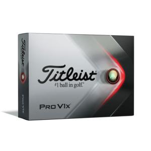 Titleist タイトリスト ゴルフボール PRO V1x ローナンバー 2021年モデル [ホワイト] 12個入 新品|densidonya