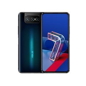 【中古美品】ASUS ZenFone7 5G ZS670KS 国内版 ブラック SIMフリー densidonya