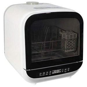 エスケイジャパン 食器洗い乾燥機 SDW-J5L (W) ホワイト 食洗機 乾燥機 工事不要 新品|densidonya