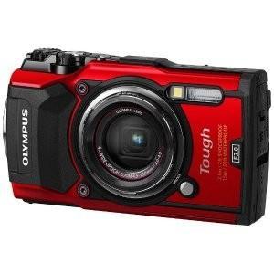 オリンパス TG-5-RED デジタルカメラ Tough TG-5(レッド) 新品|densidonya
