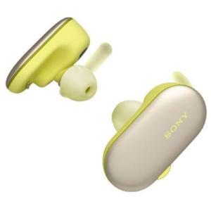 ソニー SONY WF-SP900 ワイヤレス Bluetoothイヤホン イエロー 【海外仕様】 新品 densidonya