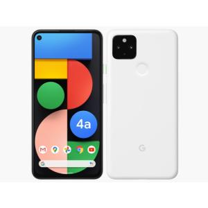 【中古美品】Google グーグル Pixel 4a 5G ホワイト SIMフリー densidonya
