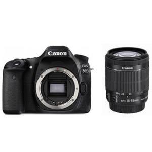 キヤノン EOS 80D EF-S18-135 IS USM レンズキット デジタル一眼カメラ 未開封新品|densidonya