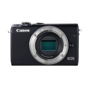 訳あり:キヤノン 小型一眼カメラ EOSイオス  EOSM100-WZK(BK) ブラック 1本レンズキット 標準ズームのみ|densidonya