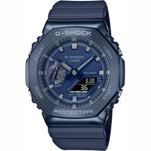 【即日発送】【新品 保証開始済み品】CASIO カシオ G-SHOCK GM-2100N-2AJF 腕時計 ブルー|densidonya