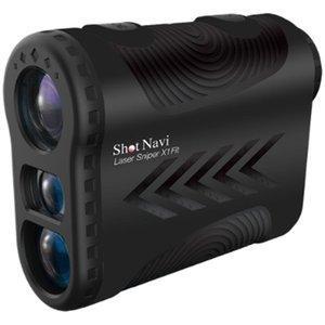 ショットナビ(SHOT NAVI) ゴルフ レーザースナイパー X1 フィット Laser Sniper X1 Fit ブラック レーザー 距離測定 ナビゲーション|densidonya
