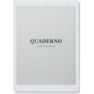 富士通 FUJITSU 電子ペーパー QUADERNO A5 FMVDP51 新品 densidonya