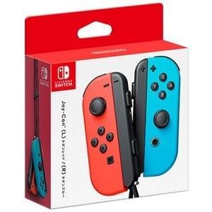 任天堂 Joy-Con(L)ネオンレッド/(R)ネオンブルー HAC-A-JAEAA Nintendo Switch用コントローラー  新品|densidonya