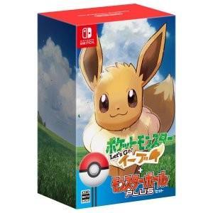 任天堂 Switch ポケットモンスター Let s Go! イーブイ [モンスターボール Plusセット] Nintendo Switch用ソフト|densidonya