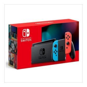 (新モデル) Nintendo Switch Joy-Con(L) ネオンブルー/(R) ネオンレッド switch本体 新型 HAD-S-KABAA  印付きの場合あり 新品の画像