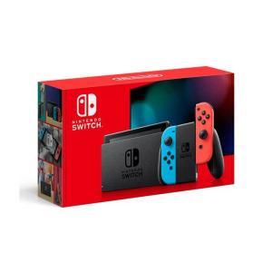 【即日発送】【新品 箱不良・シュリンク破れ品】Nintendo Switch 2019 [ネオンブルー/ネオンレッド]|densidonya