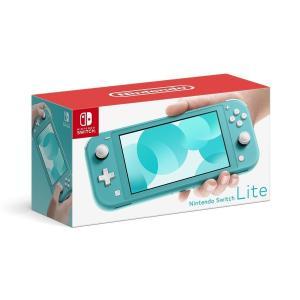 【新品 外箱痛みあり】 任天堂 Nintendo Switch Lite ターコイズ Nintendo Switch本体 新品 印付きの場合あり|densidonya