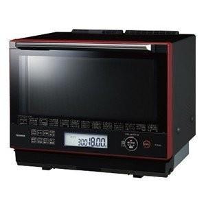 東芝 30L 過熱水蒸気オーブンレンジ 石窯ドーム スタンダードモデル ER-SD3000-R グランレッド 2段  新品|densidonya