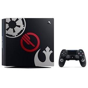 ソニー PlayStation 4 Pro Star Wars Battlefront II Limited Edition -HPD  CUHJ-10019 [1TB] 新品 他店印付き場合あり densidonya