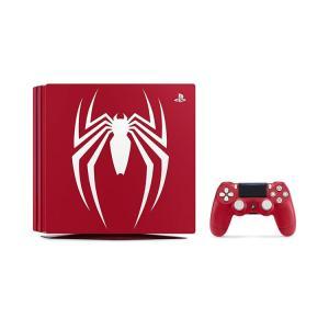 他店印付きの場合ありPlayStation4 Pro Marvel s Spider-Man Limited Edition CUHJ-10027 スパイダーマン マーベル 新品 送料無料 densidonya