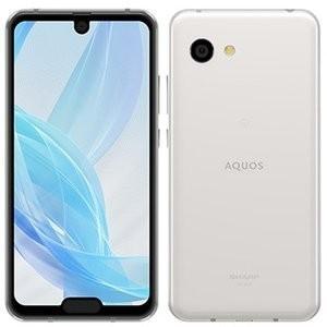 シャープ AQUOS R2 compact SH-M09 ディープホワイト SIMフリー アンドロイドスマートフォン 新品|densidonya